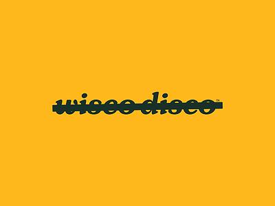 No Wisco ⁄ No Disco anti branding wi wisconsi logo branding