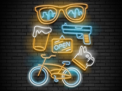 City Neon Collection