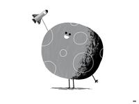 Baby Moon ❤️ Her Rocket Ship