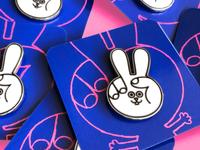 The Peace Bunny Pin