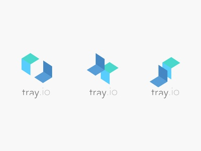 Tray.io (Logo) identity brand concept tray.io tray logo my poor brain smith tim