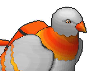Carrier Pigeon (Pixel Art)