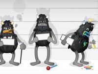 Gremlin Lineup (Character Design)