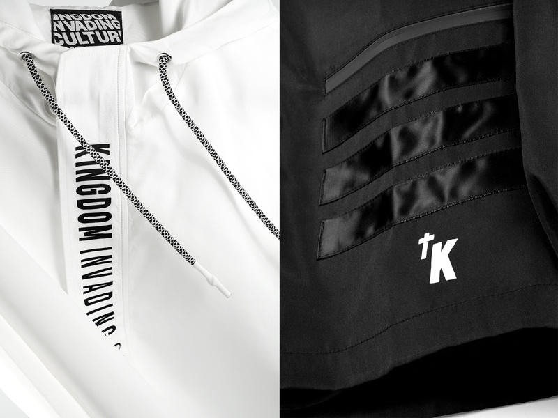 Kingdom Invading Culture - Apparel branding design typography logo toronto apparel design apparel photography label branding coat jacket streetwear clothing brand clothing