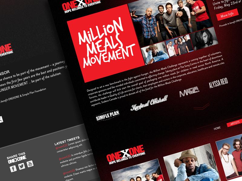Millionmeals site