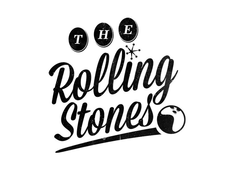 retro bowling logo