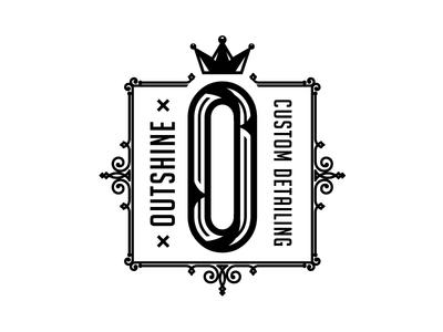 Outshine Custom Detailing Logo - RND2