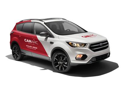 CANARC Vehicle Wrap