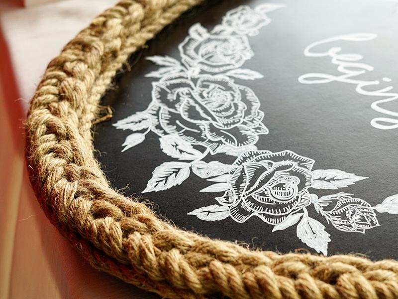 Chalk Roses wedding drawing flower roses illustration chalk chalkboard