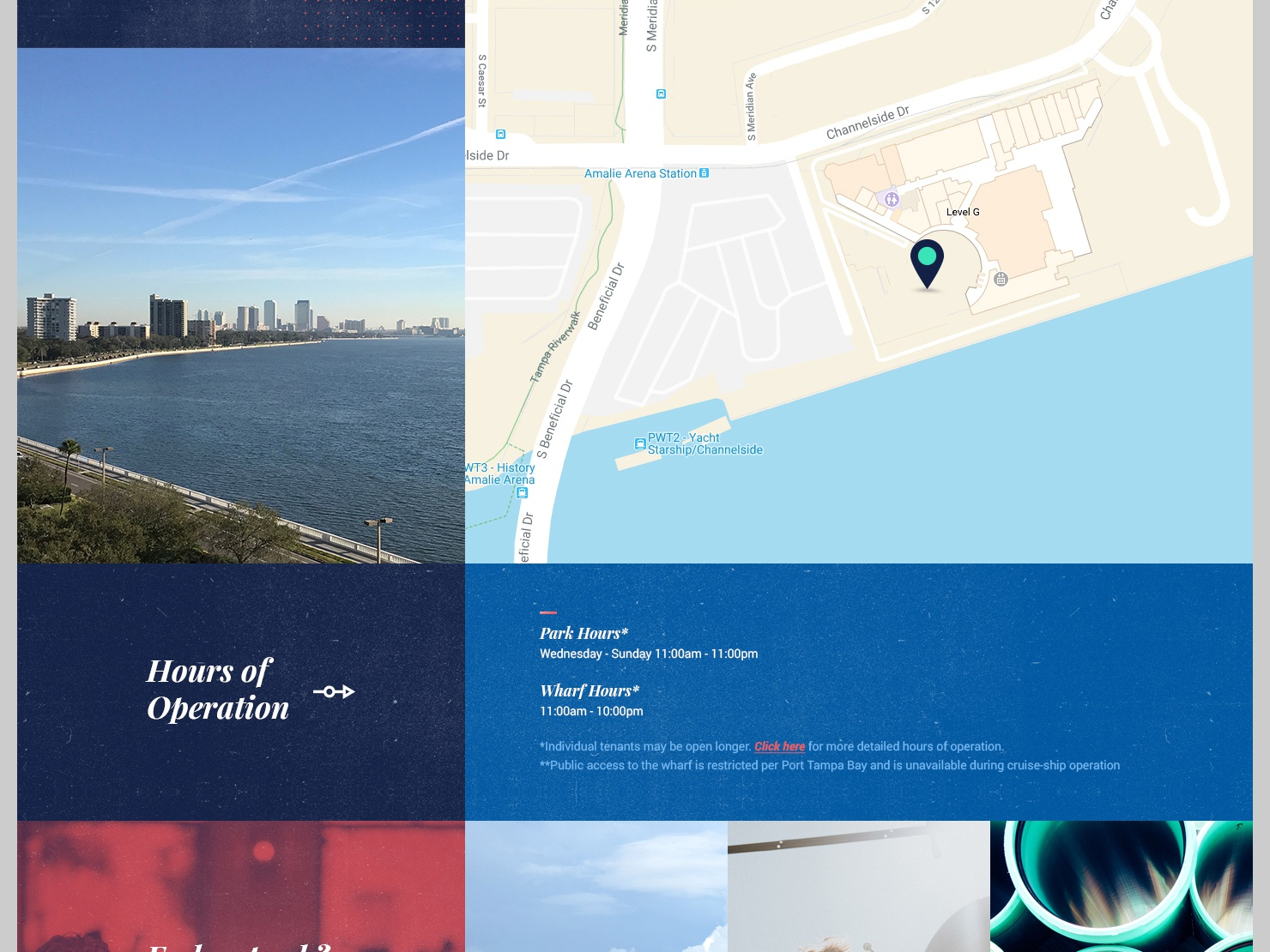 Site Info Layout real estate web design web branding ui ux