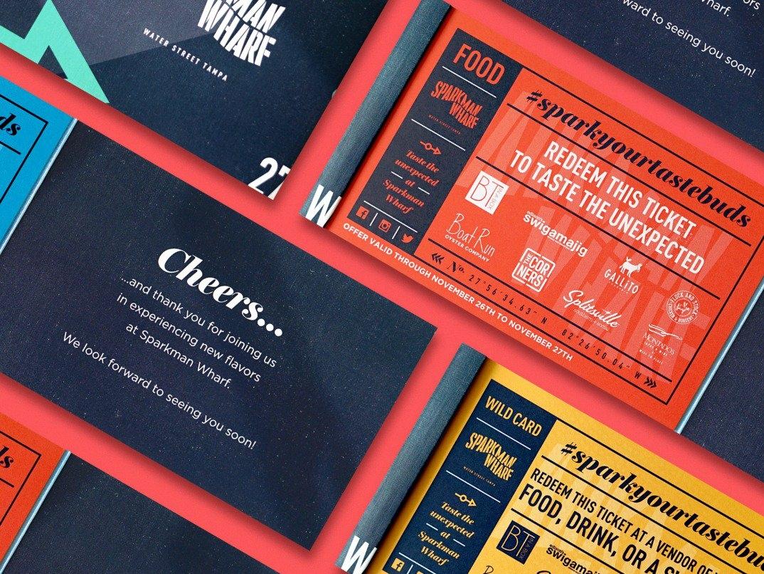 Ticket Books print design book branding typography ticket