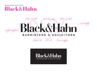 Black&Hahn Branding