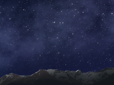 Milky Way Night Sky night after effects