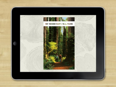 Redwood Front Page app brochure