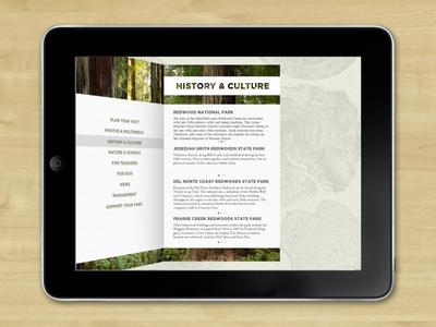 Redwood Inside Front Page app brochure