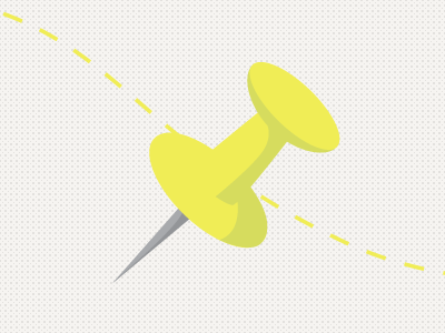 Push Pin icon push pin animation motion design