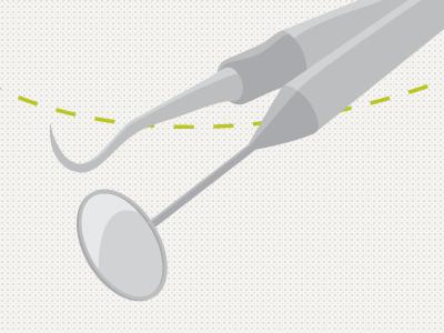 Dental tools motion design animation dental tools
