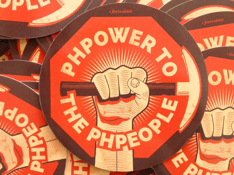 PHPower To The PHPeople retro