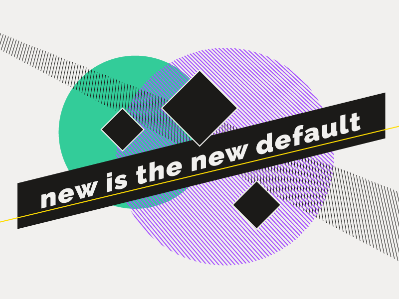 New is the New default lolipop trendy 80s