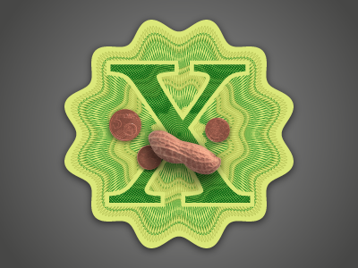 Bank X Icon