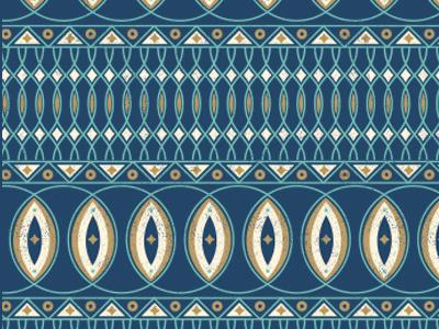 Pattern pattern geometric navy triangles simple