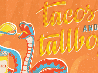 tacos and tallboys