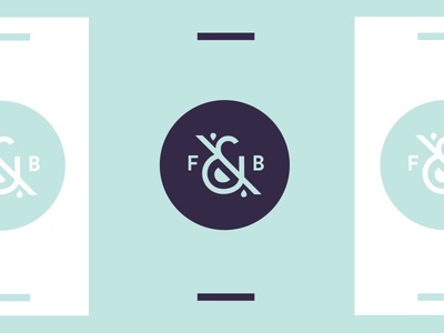 F & B logo mark ampersand