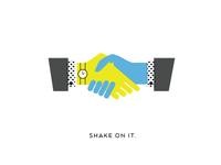 shake on it