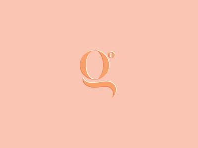unused g mark logo mark g initial unused