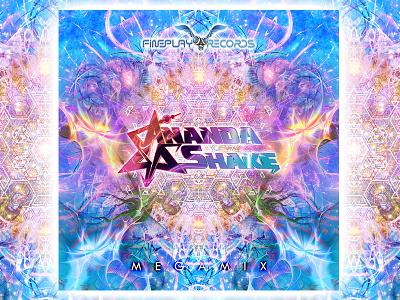 Ananda Shake Digital Single Cover japan cover psychedelic release single digital