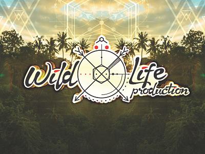 Wild Life Production Logo germany music electronic psytrance party life wild logo