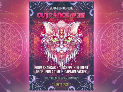 Outrance #36 artwork