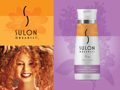 Sulon Shampoo package design hair salon beauty product beauty salon beauty typography logo branding
