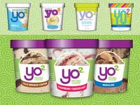 Yo2 Frozen Yogurt Pints