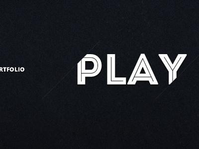 Play web heading menu typography adobe fireworks
