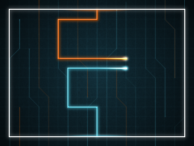 Tron: Light Cycle Game adobe fireworks tron