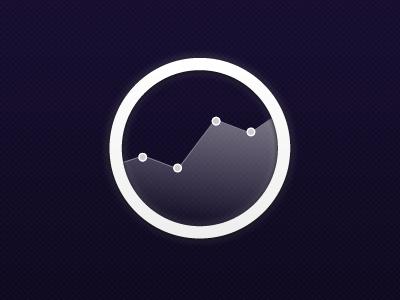 DataBoard logo icon chart adobe fireworks circle graph analytics