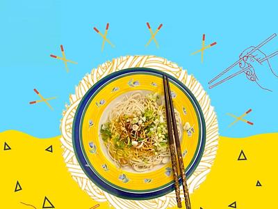 Food Creative logo typography poster illustration design branding