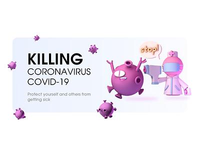 Covid-19 Banner website banner coronavirus covid19 covid