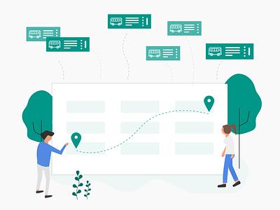 Redesign VEXERE booking redesign website ui