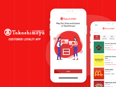 Customer Loyalty App design loyalty app ui