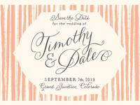 Save the Date- 1st attempt
