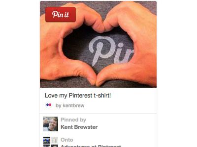 Pinterest Widget - Sketch  pinterest sketch widget