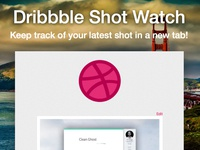 Dribbble Shot Watch