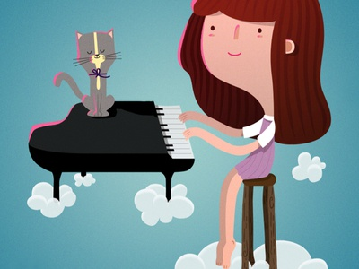 Flying piano