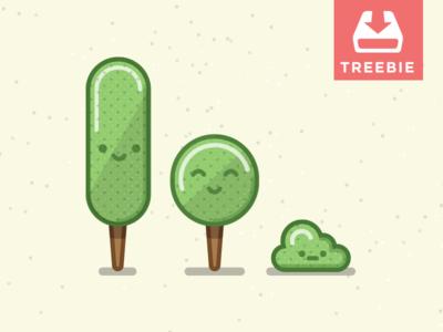 Tree + Freebie = Treebie