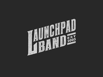 Launchpad Band icon logo indie alt rock high school competition battle music band