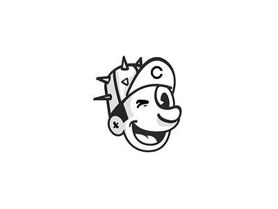 Brewery Mascot WIP 20s vintage retro logo cartoon mascot brewing brewery beer
