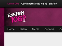 Energy 106.9 Static Bar