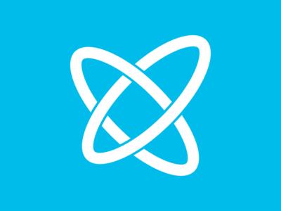 Fusion Logo logo logomark mark identity simple minimal sketch